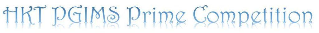 HKT PGIMS Prime Competition 2021